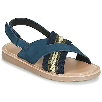 Topánky Chlapci Sandále André GABRIEL Námornícka modrá