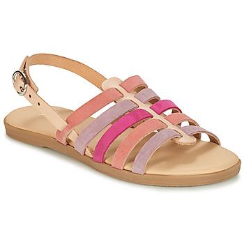 Topánky Dievčatá Sandále André INDRA Ružová
