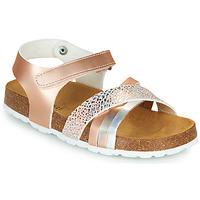 Topánky Dievčatá Sandále André CARAIBE Ružová