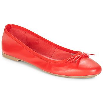 Topánky Ženy Balerínky a babies André PIETRA Červená