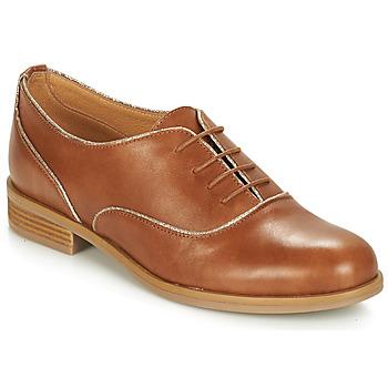 Topánky Ženy Derbie André CHOMINE Ťavia hnedá