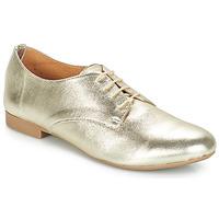 Topánky Ženy Derbie André COMPLICITY Zlatá
