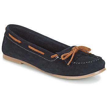 Topánky Ženy Mokasíny André REE Modrá