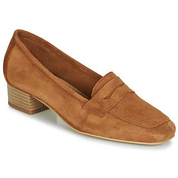 Topánky Ženy Mokasíny André SENLIS Ťavia hnedá