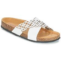 Topánky Ženy Šľapky André ROULADE Biela