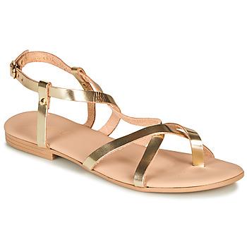 Topánky Ženy Sandále André RAFFOLE Zlatá