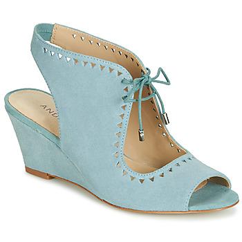 Topánky Ženy Sandále André SCOOP Modrá