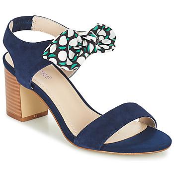 Topánky Ženy Sandále André SUPENS Modrá