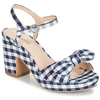 Topánky Ženy Sandále André SPRING Modrá