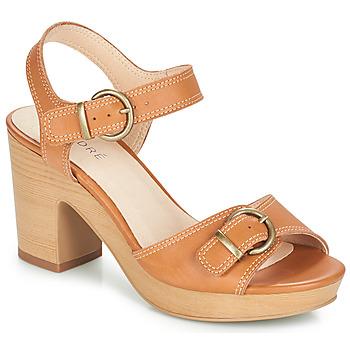 Topánky Ženy Sandále André ROULOTTE Ťavia hnedá
