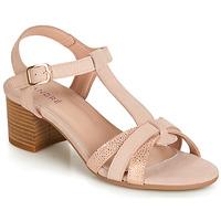 Topánky Ženy Sandále André CAROLA Svetlá telová