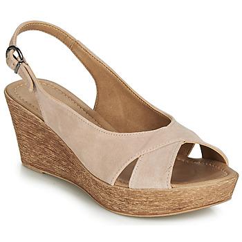 Topánky Ženy Sandále André DESTINY Svetlá telová