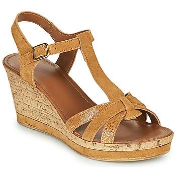 Topánky Ženy Sandále André ALOE Ťavia hnedá
