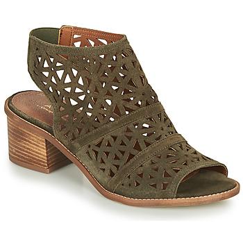 Topánky Ženy Sandále André CARIOCA Kaki