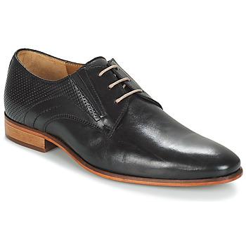 Topánky Muži Derbie André LIGURIA Čierna