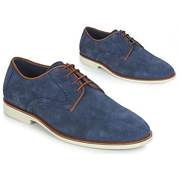 Topánky Muži Derbie André ARGENTINA Námornícka modrá