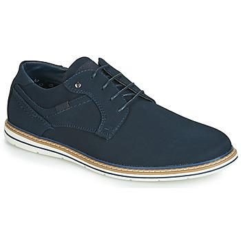 Topánky Muži Derbie André MARCEL Námornícka modrá