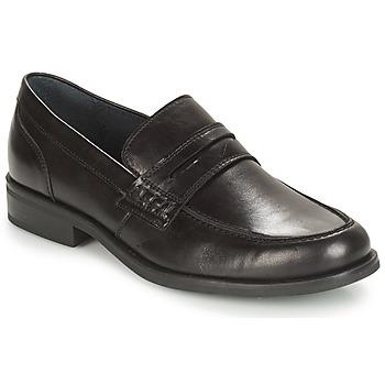 Topánky Muži Mokasíny André KOLL Čierna