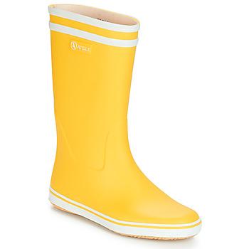 Topánky Ženy Čižmy do dažďa Aigle MALOUINE BT Žltá