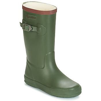 Topánky Deti Čižmy do dažďa Aigle PERDRIX Kaki
