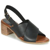 Topánky Ženy Sandále Kickers VICTORIANE Čierna