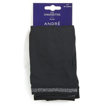 Textilné doplnky Ženy Ponožky André MARGUERITE Čierna