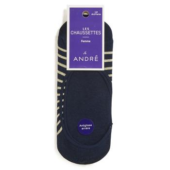Textilné doplnky Ženy Ponožky André NINON Námornícka modrá
