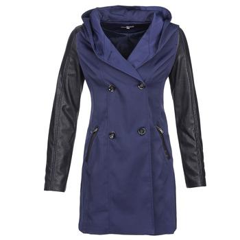 Oblečenie Ženy Kabátiky Trenchcoat Betty London CAMILLE Námornícka modrá