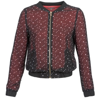 Oblečenie Ženy Saká a blejzre Moony Mood CAT čierna / červená