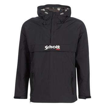 Oblečenie Muži Bundy  Schott PIKES 1 Čierna