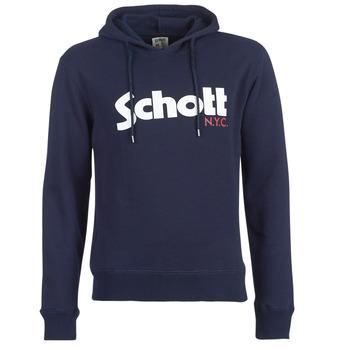 Oblečenie Muži Mikiny Schott HOOD Námornícka modrá