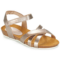 Topánky Dievčatá Sandále Kickers BOGART Bronzová / Metalická