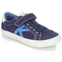 Topánky Chlapci Nízke tenisky Kickers GODY Námornícka modrá
