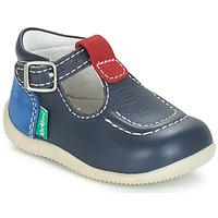 Topánky Chlapci Sandále Kickers BONBEK Námornícka modrá