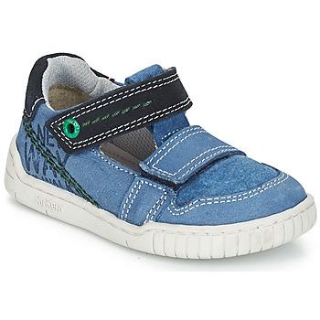 Topánky Chlapci Sandále Kickers WHATSUP Modrá