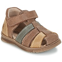 Topánky Chlapci Sandále Citrouille et Compagnie FRINOUI Hnedá / Viacfarebná