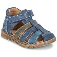 Topánky Chlapci Sandále Citrouille et Compagnie FRINOUI Námornícka modrá / Šedá