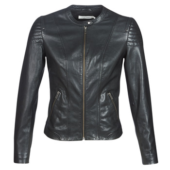 Oblečenie Ženy Kožené bundy a syntetické bundy Naf Naf CLIM Čierna