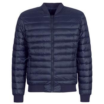 Oblečenie Muži Vyteplené bundy Selected SLHPADDED BOMBER Námornícka modrá