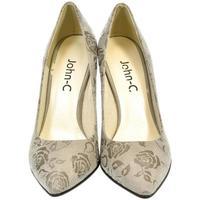 Topánky Ženy Lodičky John-C Dámske sivé lodičky ROSE sivá