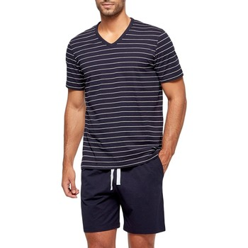 Oblečenie Muži Pyžamá a nočné košele Impetus GO63024 039 Modrá