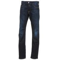 Oblečenie Muži Rovné džínsy Replay WAITON Modrá / Dark