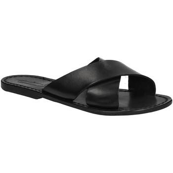 Topánky Ženy Šľapky Gianluca - L'artigiano Del Cuoio 560 D NERO CUOIO nero
