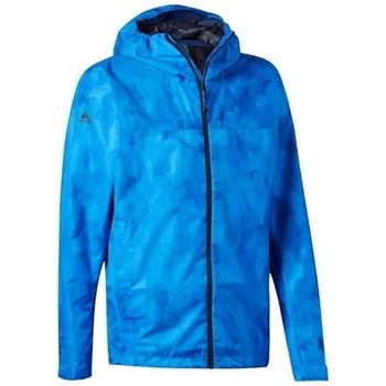 Oblečenie Muži Bundy  adidas Originals Wandertag Allover Print M Modrá