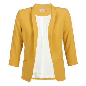 Oblečenie Ženy Saká a blejzre Betty London IOUPA Žltá