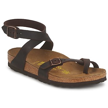 Topánky Ženy Sandále Birkenstock YARA PREMIUM Hnedá