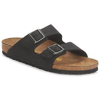 Topánky Muži Šľapky Birkenstock ARIZONA PREMIUM Čierna