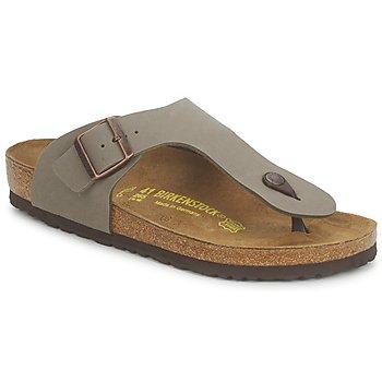 Topánky Muži Žabky Birkenstock RAMSES šedá