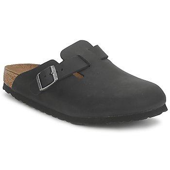 Topánky Nazuvky Birkenstock BOSTON PREMIUM Čierna