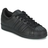Topánky Muži Nízke tenisky adidas Originals SUPERSTAR FOUNDATION čierna